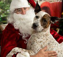 Santa & Katie by Steve Bass