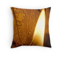 Counting Rivers Throw Pillow