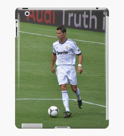 Cristiano Ronaldo Real Madrid Foto: Copyrigth 2011 Gustavo Garcia iPad Case/Skin