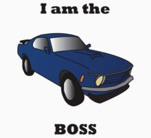 I am the BOSS Mustang One Piece - Long Sleeve