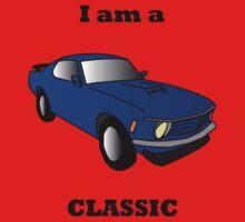 I am a CLASSIC (Mustang) Kids Tee