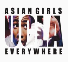 Asian Girls Everywhere (Black Letters) by ashblackheart