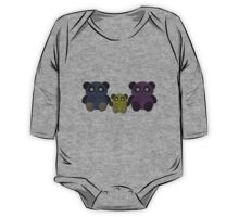Panda Family One Piece - Long Sleeve