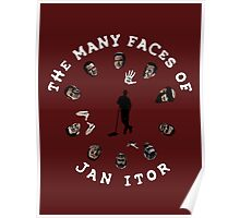 The many faces of Jan Itor Poster