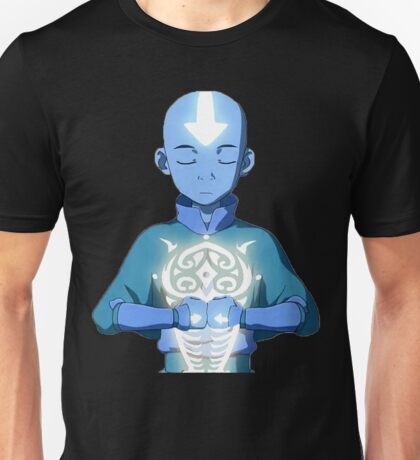 Aang's Avatar State with Raava Unisex T-Shirt