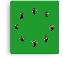 Super Mario 64 Jumps Canvas Print