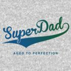 Super Dad - Blue/green by buud