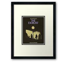 Exorcist - Movie Poster Framed Print
