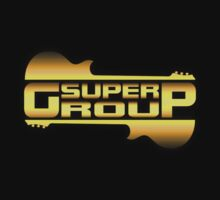 Super group Gold decoration Clothing & Stickers by goodmusic
