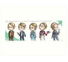 Hannibal - Lecter's wardrobe Art Print