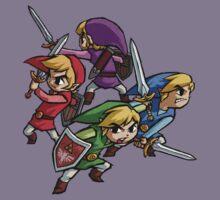 4 Swords Kids Tee