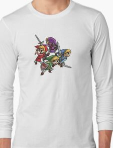 4 Swords Long Sleeve T-Shirt