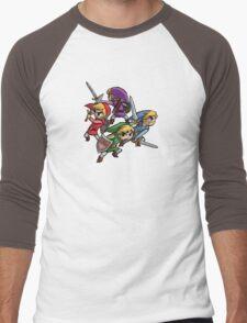4 Swords Men's Baseball ¾ T-Shirt