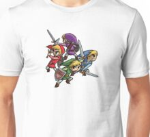 4 Swords Unisex T-Shirt
