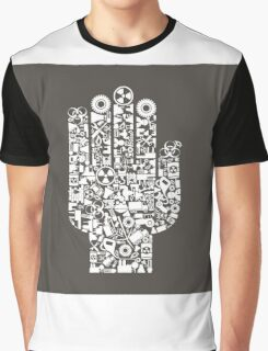 Hand the industry Graphic T-Shirt