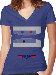 Top Gun - Minimal T-Shirt Women's Fitted V-Neck T-Shirt