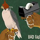 Bad Falconry 6 x 4 by Dyna Moe