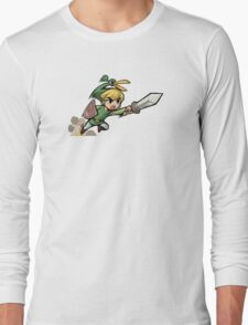 Link with sword Long Sleeve T-Shirt