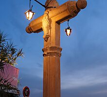 Albaicin Cross, Granada, Spain by rukuu