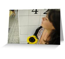 Sunflower on 42nd Greeting Card