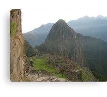 Inca Lands Canvas Print