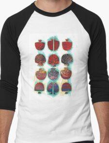 Multifaceted No.1 (Light, Time & Facade Series) Men's Baseball ¾ T-Shirt