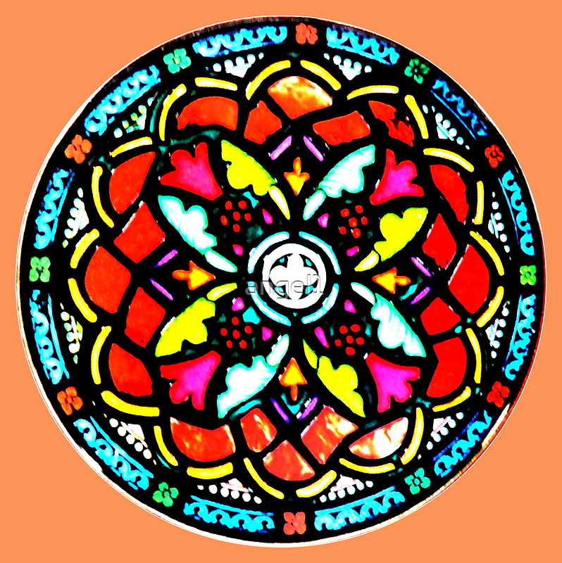 Stained Glass Detail by ©The Creative  Minds