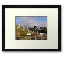 Spotted Hill Framed Print