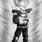SSJ Vegeta  by Joey Kuipers