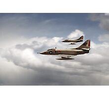 A4 Skyhawks Photographic Print
