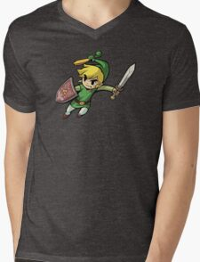 Link Mens V-Neck T-Shirt