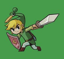 Link with sword Kids Tee