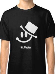 Mr. Vector black Classic T-Shirt