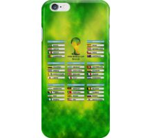 World Cup 2014 Group Stage iPhone Case/Skin