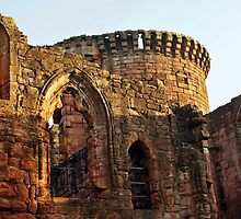 Bothwell Castle Turret by Escocia Photography