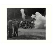 Canon Fire Art Print