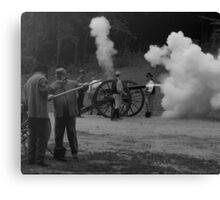 Canon Fire Canvas Print
