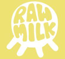 Raw Milk - White One Piece - Short Sleeve
