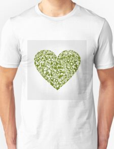 Heart the industry Unisex T-Shirt