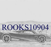 Pagani Huayra EXOTIC CAR ART PRINT by rooks10904