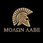 Molon labe-Spartan Warrior by augustinet
