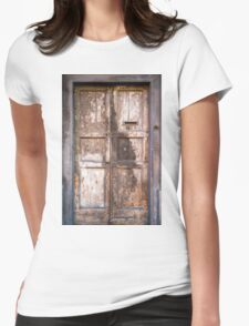 Door Womens Fitted T-Shirt