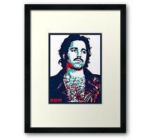 Ron Jeremy Framed Print