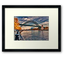 Autumn on the River Tyne Framed Print