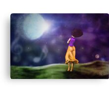 Music in the Sky Canvas Print