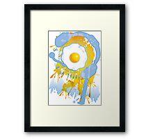 Funny_Fried_Egg Framed Print