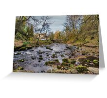 West Burton Bridge Greeting Card