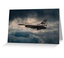 F16 Tiger Greeting Card