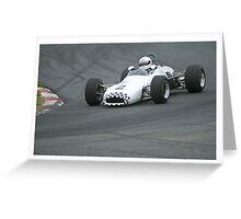 F2 Racing. Greeting Card