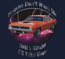 Plymouth Barracuda Heaven Don't Want Me Kids Clothes